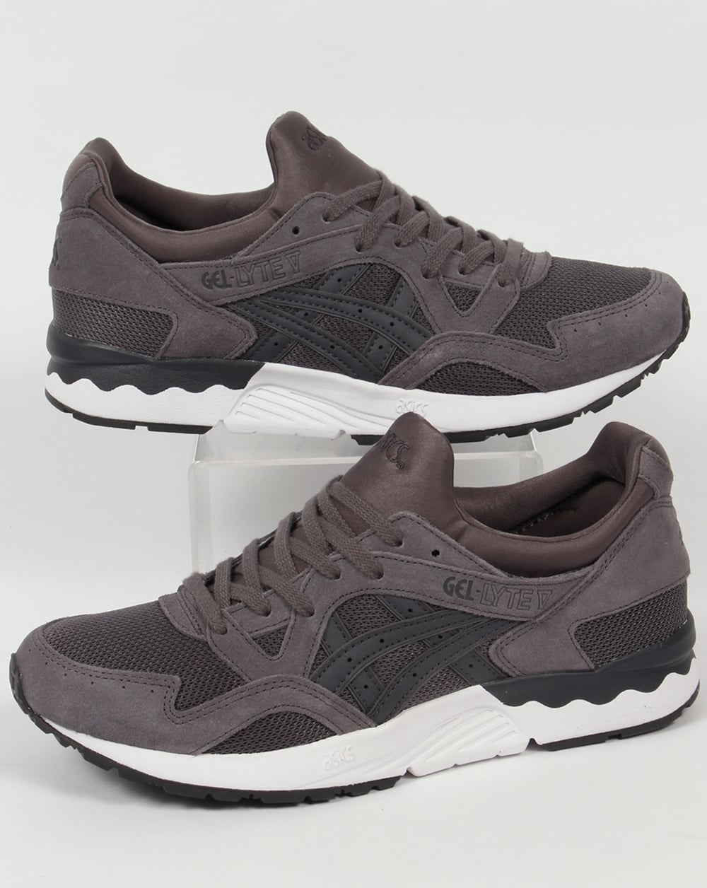 Asics Gel Lyte V Trainers CarbonDark Grey
