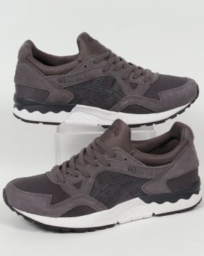 Asics Gel Lyte V Trainers Carbon/Dark Grey