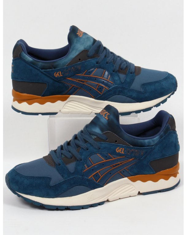 factory authentic 4bef9 46213 amazon orange blue womens asics gel lyte 5 shoes 26d46 1d69c