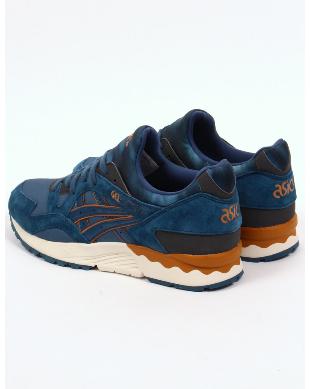 asics gel lyte v trainers legion blue 5 shoes runners sneakers. Black Bedroom Furniture Sets. Home Design Ideas