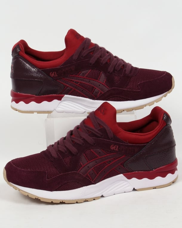 Asics Gel Lyte V Trainers Rioja Red