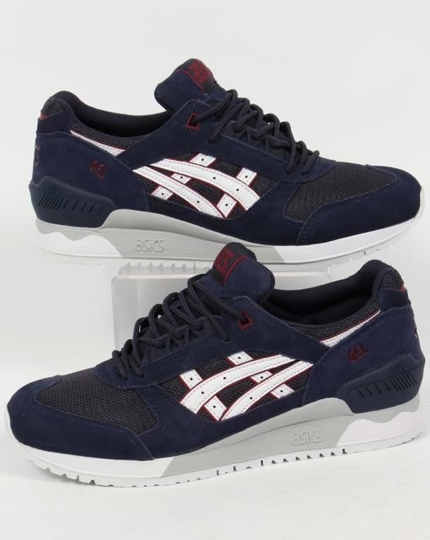 Asics Gel Respector Trainers Navy/White