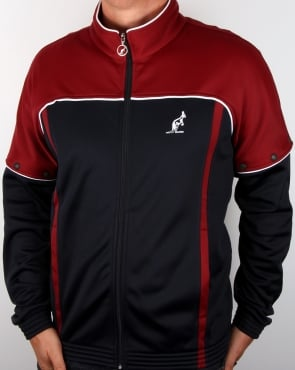 Australian By Lalpina Bex Track Top Navy/burgundy