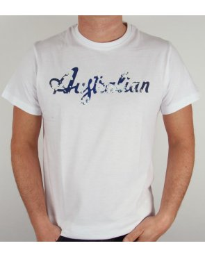 Australian By Lalpina Camo Logo T-shirt White