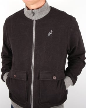 Australian By Lalpina Dual Pocket Track Jacket Charcoal