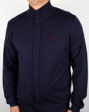 Australian By Lalpina Funnel Neck Cardigan Navy