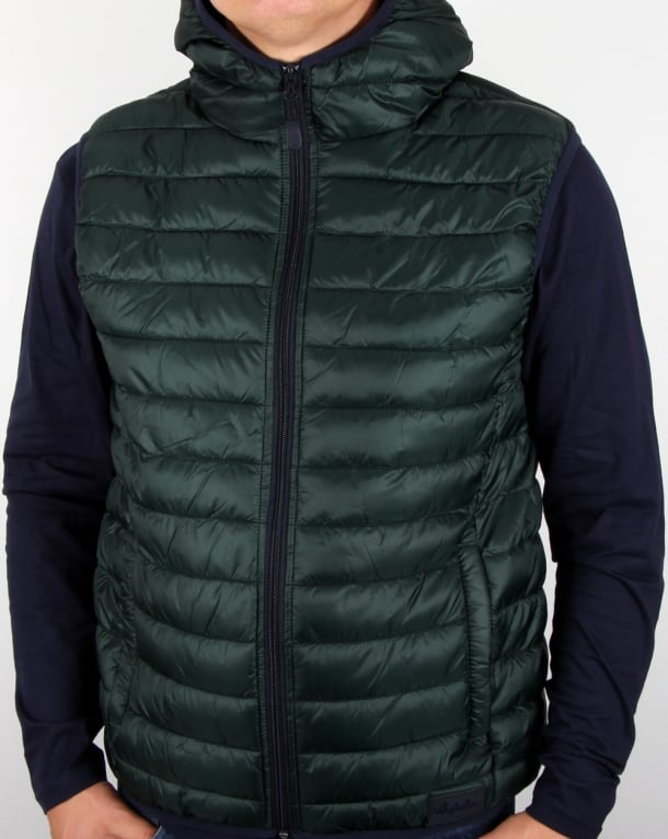 Australian By Lalpina Gilet Dark Green