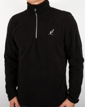 Australian By Lalpina Half Zip Fleece Black