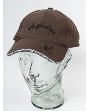 Australian By Lalpina Logo Carrier Cap Brown