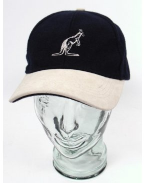 Australian By Lalpina Logo Carrier Cap Navy/tan