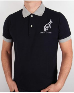 Australian By Lalpina Logo Polo Shirt Black