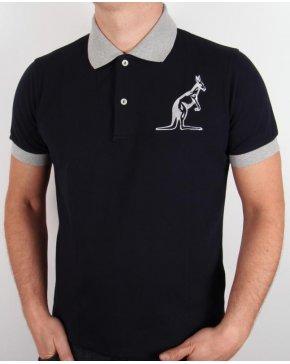 Australian By Lalpina Logo Polo Shirt Black