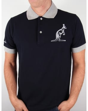 Australian By Lalpina Logo Polo Shirt Dark Navy