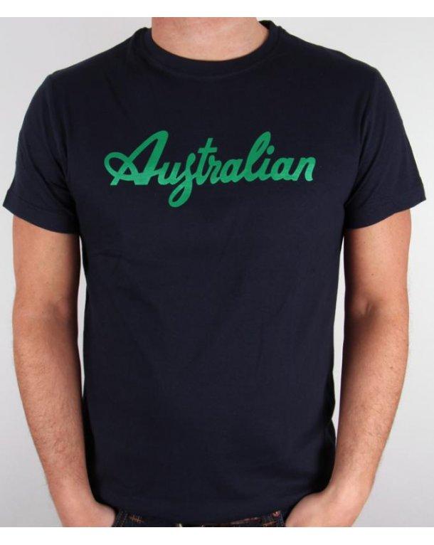 Australian By Lalpina Logo T-shirt Navy