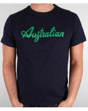 Australian By Lalpina Logo T-shirt Navy