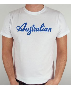 Australian By Lalpina Logo T-shirt White