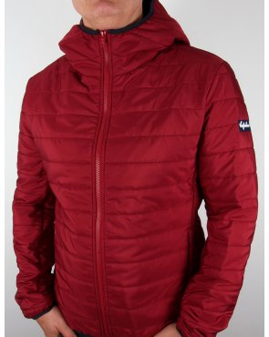 Australian By Lalpina Quilted Jacket Burgundy