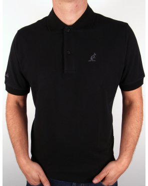 Australian By Lalpina Small Logo Polo Shirt Black