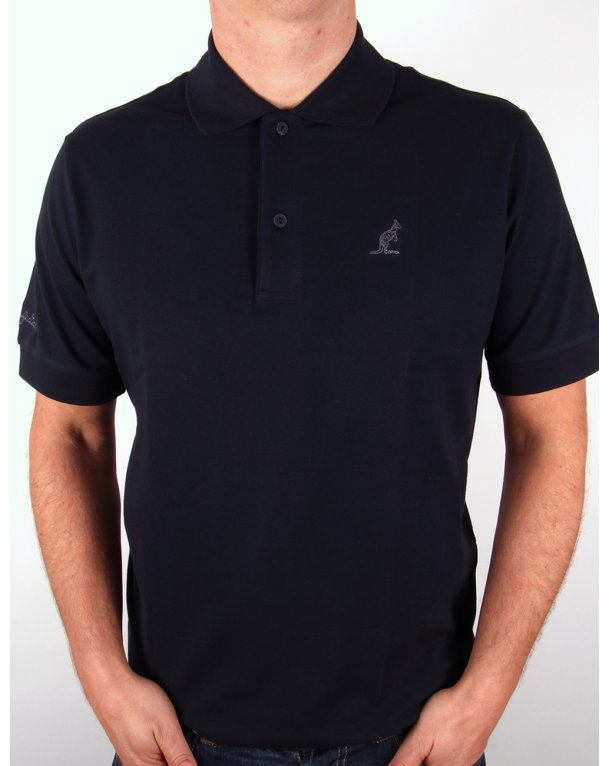 Australian By Lalpina Small Logo Polo Shirt Navy