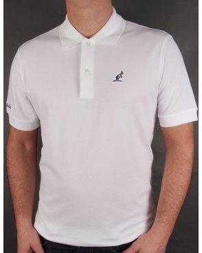 Australian By Lalpina Small Logo Polo Shirt White