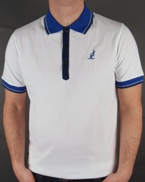 Australian By Lalpina Tipped Polo Shirt White