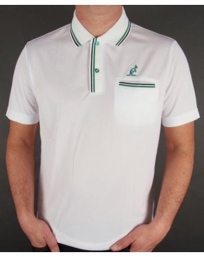 Australian By Lalpina Twin Tipped Polo Shirt White