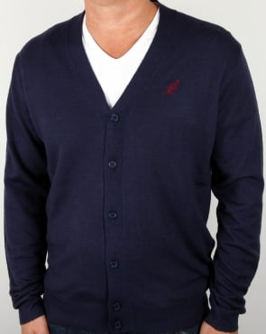 Australian By Lalpina V Neck Cardigan Navy