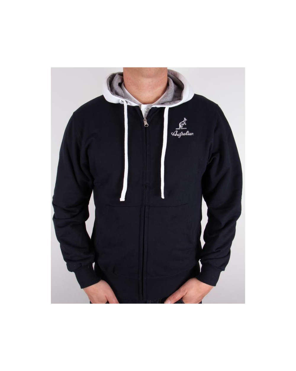 Find Australia Men's Hoodies & Sweatshirts in a variety of colors and styles from zippered hoodies and pullover hoodies to comfy fleece crewneck sweatshirts.