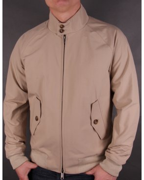 Baracuta G9 Harrington Sand