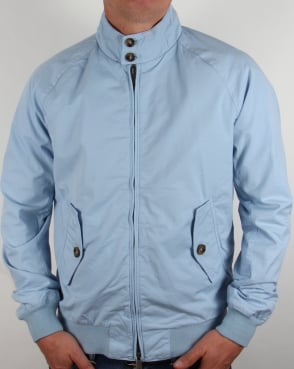 Baracuta G9 Hastings Harrington Jacket Cloud Blue