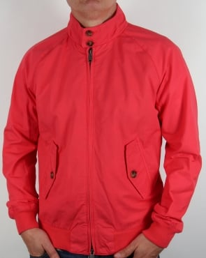 Baracuta G9 Hastings Harrington Jacket Coral