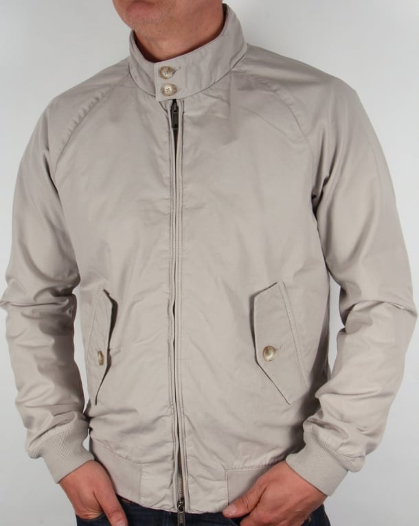 Baracuta G9 Hastings Harrington Jacket Dusty