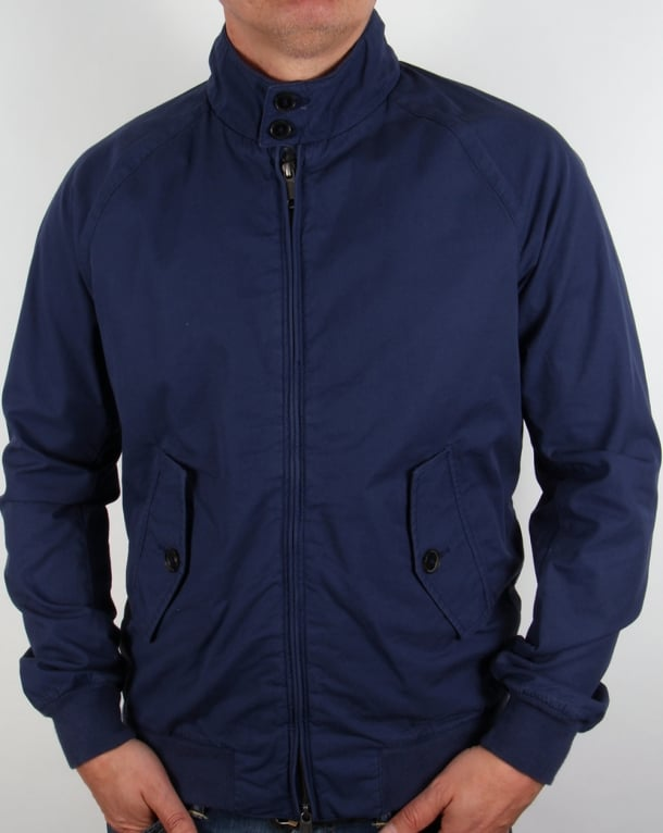 Baracuta G9 Hastings Harrington Jacket Navy