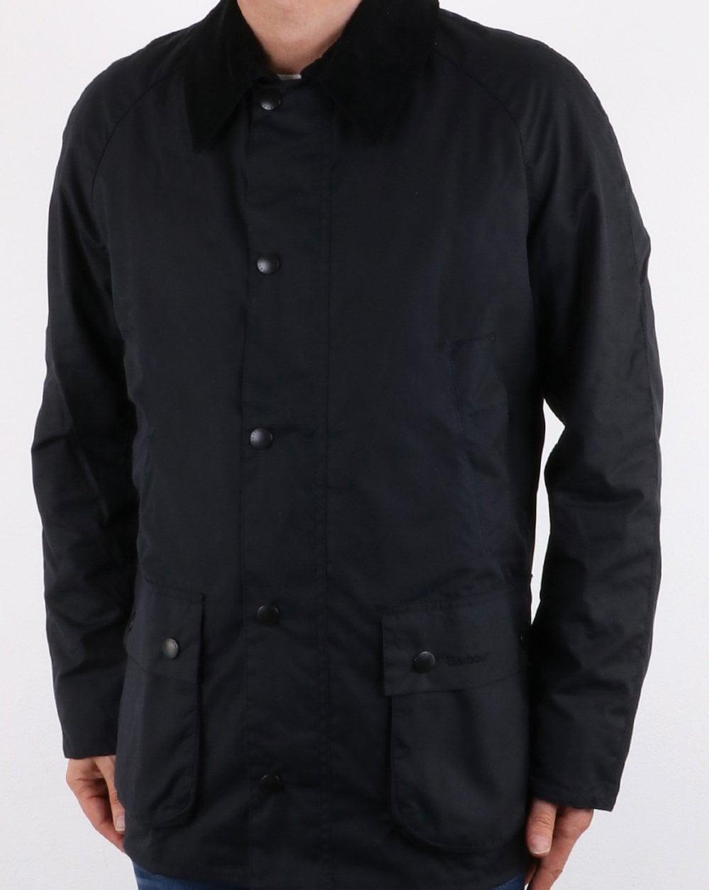 d954e9b5d31 Barbour Ashby Wax Jacket Navy