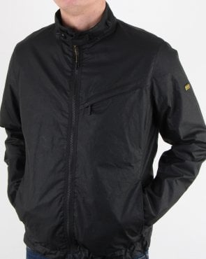 Barbour Bower Wax Jacket Black