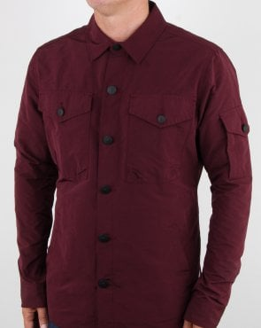 Barbour Business Beacon Askern Overshirt Merlot