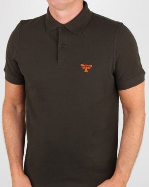 Barbour Business Beacon Polo Shirt Forest Green