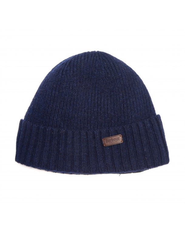 Barbour Carlton Beanie Navy