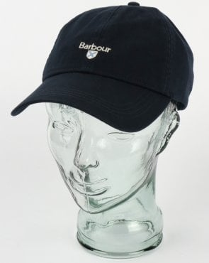 38d4414a366 Barbour Cascade Baseball Cap Navy
