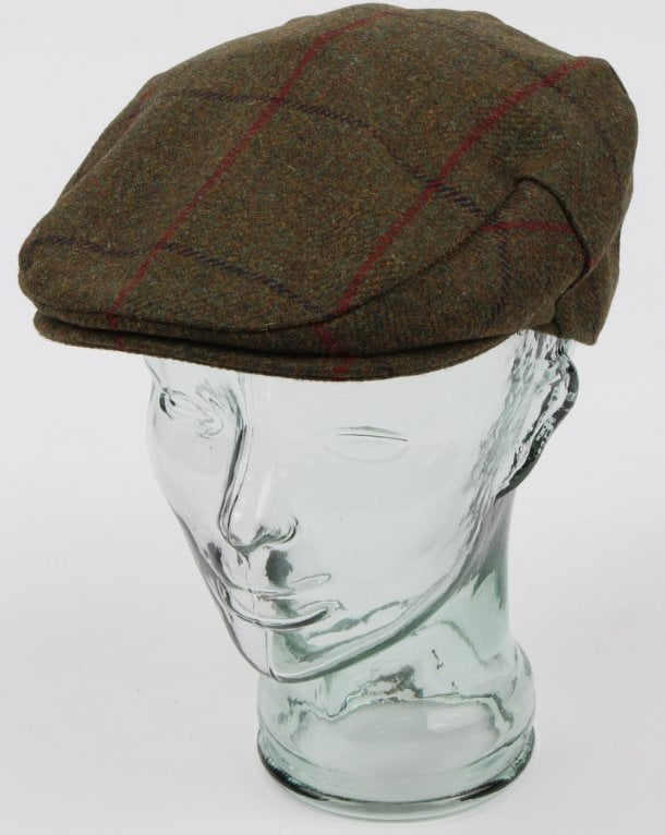 Barbour Crieff Cap Green/blue/red