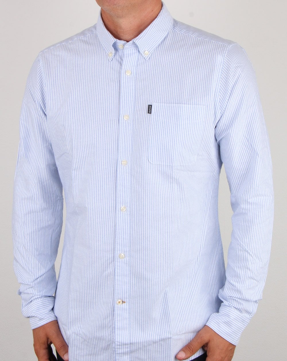 4f92bb874d210 Barbour Barbour Endsleigh Oxford Shirt Sky