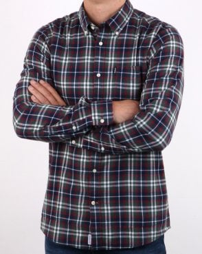 Barbour Endsleigh Racing Green Check Shirt