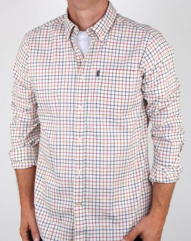 Barbour Endsleigh Tattersall Shirt Simple Check