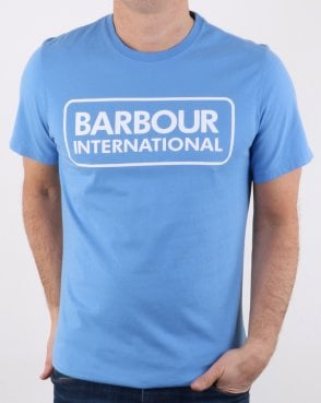 Barbour Essential Logo T-shirt Blue