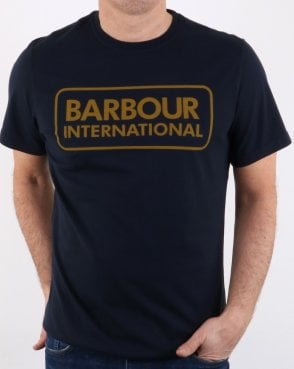 Barbour Essential Logo T-shirt Navy