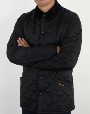 Barbour Heritage Classic Quilted Jacket Black