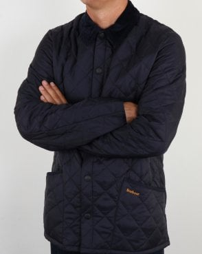 Barbour Heritage Classic Quilted Jacket Navy