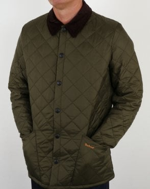 Barbour Heritage Classic Quilted Jacket Olive