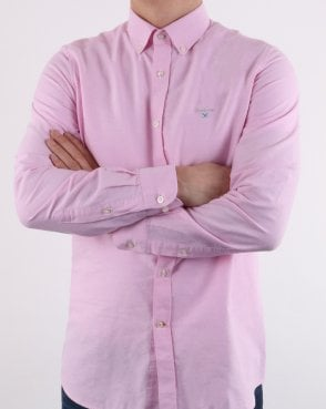 Barbour Oxford Shirt Pink