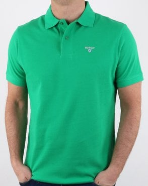 Barbour Polo Shirt Green